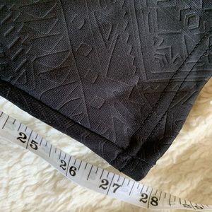 Xhilaration Pants - Xhilaration size medium black textured leggings